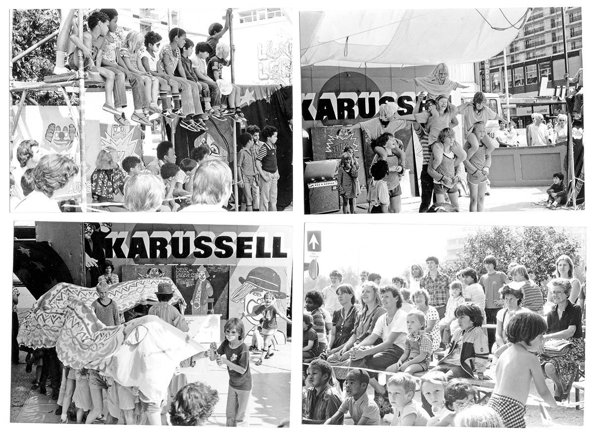 DER FAHRENDE RAUM | Zirkus Pumpernudl, Zirkusvorstellung, PA, Holland 1981 -