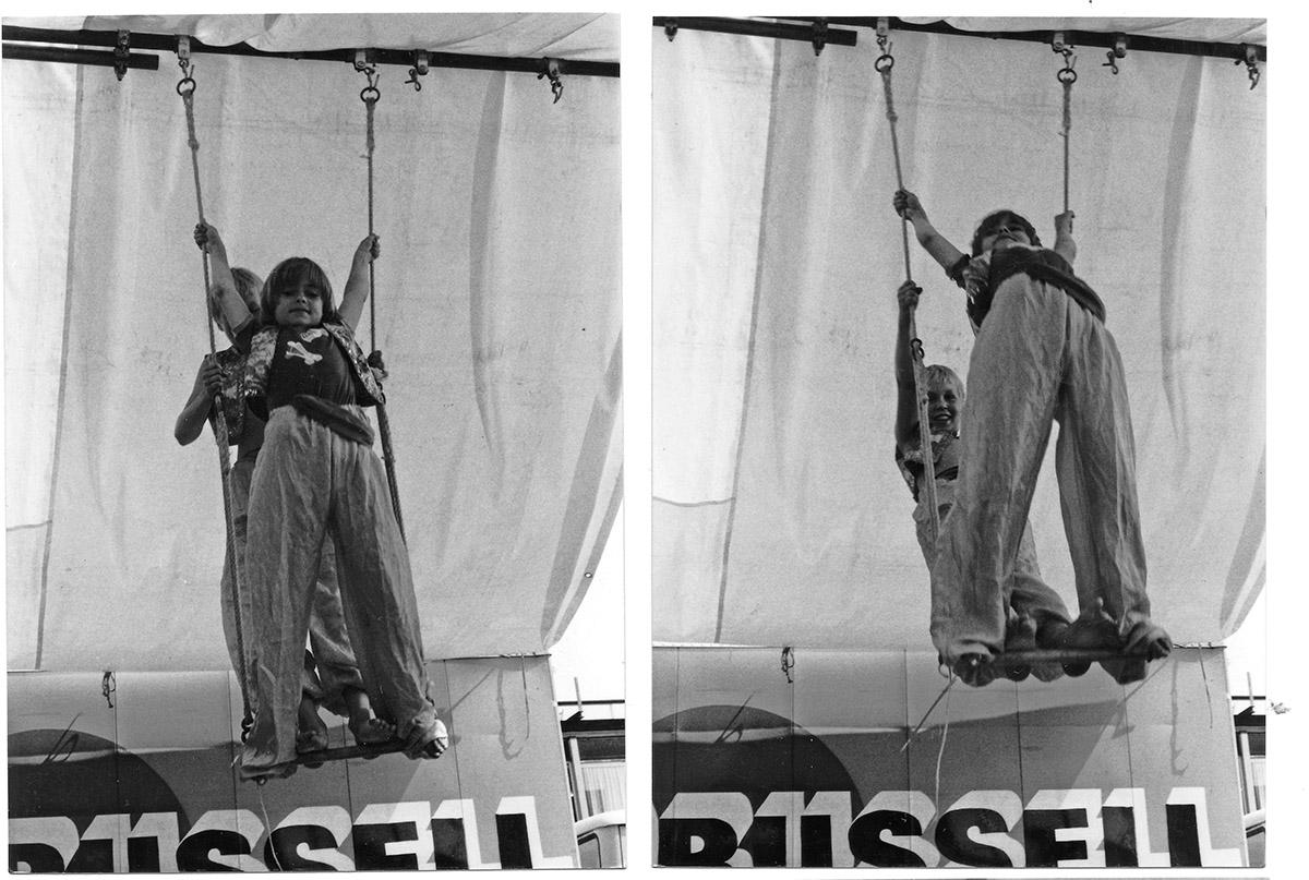 DER FAHRENDE RAUM | Zirkus Pumpernudl, Akrobatik PA, Holland 1981 -