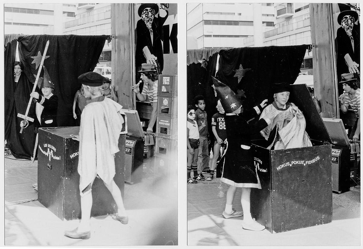 DER FAHRENDE RAUM | Zirkus Pumpernudl, Schwerttrick; PA, Holland 1981 -