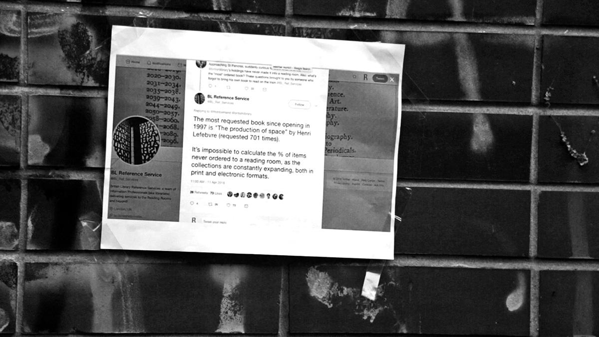 DER FAHRENDE RAUM | Abbildungen: Video stills; The Production of Space / The production of Raum. A Film by Vladimir Jerić Vlidi & Pavle Crnobrnja. Der Fahrende Raum, Network Failure 2018 -