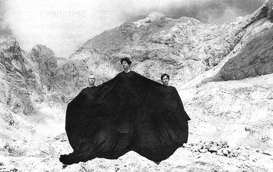 DER FAHRENDE RAUM | After OHO, Mount Triglav, 1968. Courtesy: Janez Janša -