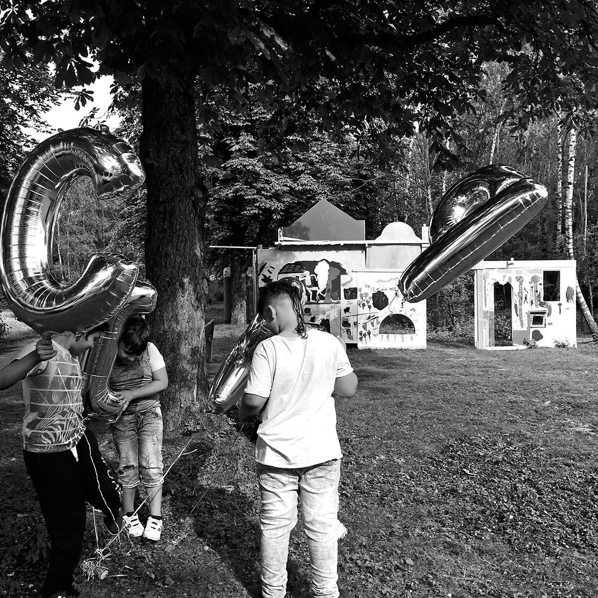 DER FAHRENDE RAUM | Cyborg Disco Werkstatt mit Eva Egermann, Der Fahrende Raum 2018, Foto Eva Egermann -